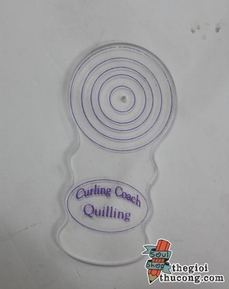 Thước Curling coach cho quilling