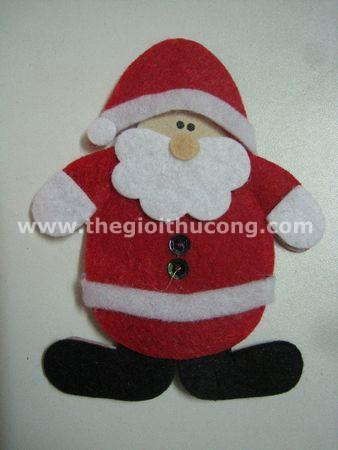 Ông già Noel bằng vải nỉ